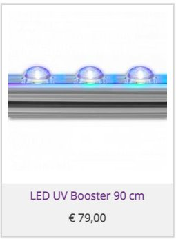 LED UV Booster 90 cm